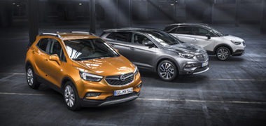 Nouvelle gamme Opel X,